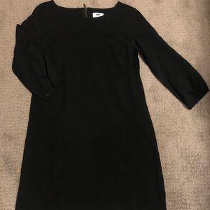 Simple black old navy dress